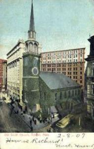 Old South Church Boston MA 1907