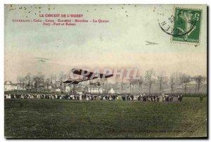 Old Postcard Western Caen Caen Lison the circuit Ecouche Mexidon Tail Fort Jo...