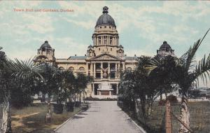 Town Hall & Gardens , DURBAN , South Africa , 00-10s