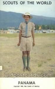 Panama Boy Scouts of America, Scouting Postcard, Post Cards, Copyright 1968  ...