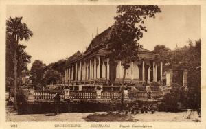 CPA Vietnam Indochine COCHINCHINE Soctrang - Pagode Cambodgienne (62779)