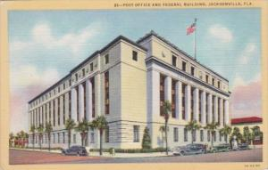 Florida Jacksonville Post Office & Federal Building Curteich