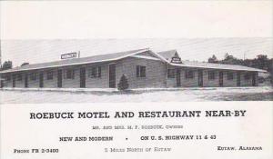 Alabama Eutaw Roebuck Motel And Restaurant Near By