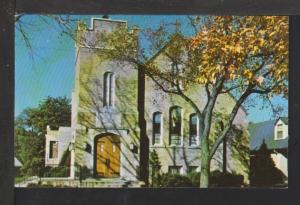 Immanuel Ev Lutheran Church,Waukegan,IL Postcard