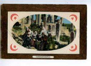 235338 TURKEY CONSTANTINOPLE Eyoub cemetery Vintage embossed