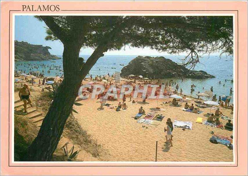 Postcard Modern Palamos Costa Brava La Fosca