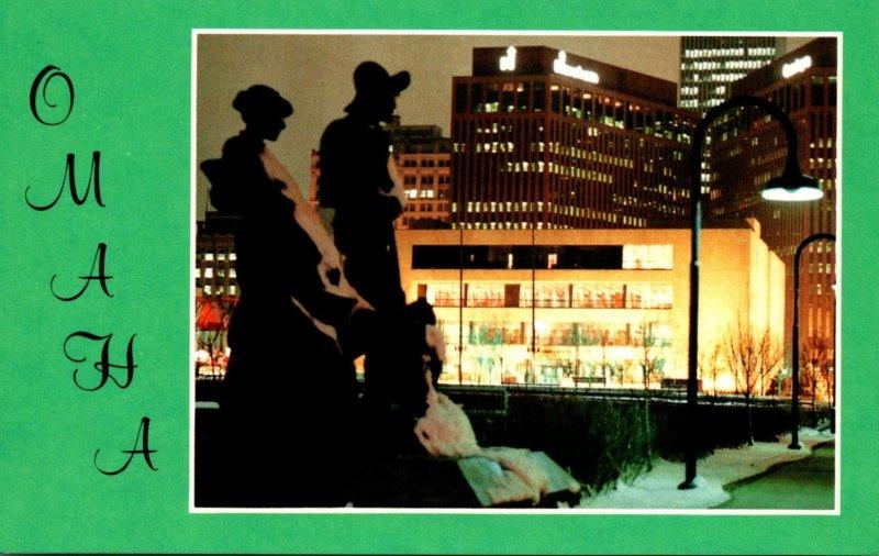 Nebraska Omaha Downtown View