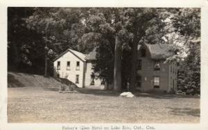 RP: Lake ERie , Ontario , 20-30s ; Fisher's Glen Hotel