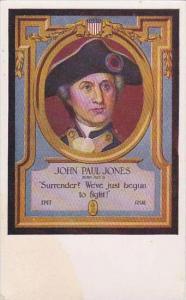 John Paul Jones We've Just Begun To Fight