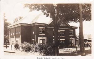RP: Public School, Monkton, Perth, Ontario, Canada, PU-1958