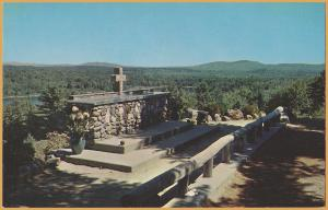 Rindge, New Hampshire - Cathedral of the Pines, Alter of the Nation & Alter Rail