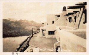 Real Photo Postcard Pikes Peak from Cheyenne Lodge in Colorado Springs~117944