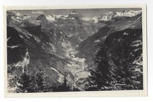 RPPC France Sixt Vallee du Fer a Cheval Alps Hte Savoie