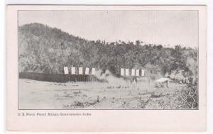 Pistol Range US Military Guantanamo Cuba 1905c postcard