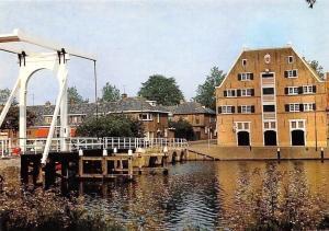Netherlands Enkhuizen, Compagniebrug Bridge River, Pont