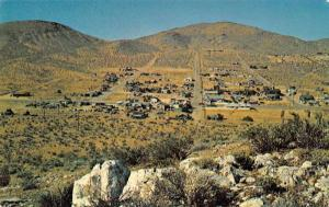 Johannesburg California Birds Eye View Vintage Postcard J61523