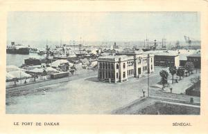 Senegal Le Port de Dakar harbour hafen 1931