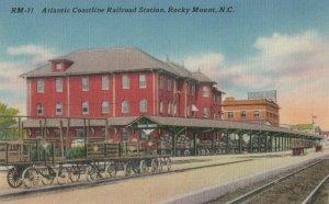 ROCKY MOUNT , NC, 1930-40s; Railroad Train Station