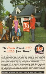 LEE Real Estate Agents, 1950-60s