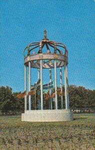 Canada Monument erige a l'entree quest Trois-Rivieres Quebec