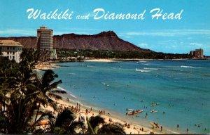 Hawaii Waikiki and Diamond Head