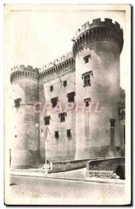 Old Postcard Tarascon Tours of the Chateau du Roi Rene