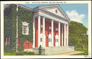 Hollins College, Va., The Little Theatre (ca. 1940)