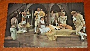 SHAKESPEAREAN STRATFORD FESTIVAL THEATRE 1968 CANADA POSTCARD ROMEO & JULIET