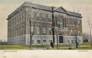 DUNNVILLE , Ontario , Canada, 1900-10s ; Public School