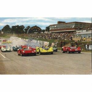 Salmon Series Postcard 'Motor Racing at Brands Hatch'