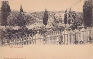 Gethsemaneh , Israel , 1890-1907 TURQUIE