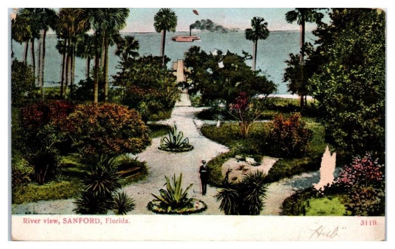 1909 River View, Sanford, FL Postcard