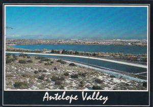 California Antelope Valley Looking North Across Palmdale & Palmdale Airport