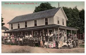 Rhode Island , Harrisville , Herring Pond Hotel