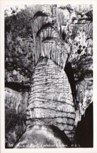 New Mexico Carlsbad Cavern Rock Of Ages Real Photo