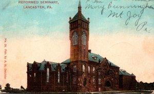 Pennsylvania Lancaster Reformed Seminary 1908