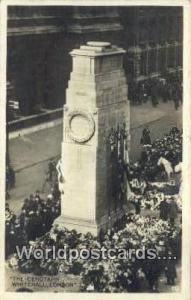 England, United Kingdon of Great Britain London The Cenotaph, Whitehall Real ...