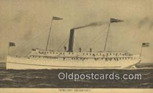 Dorothy Bradford Steam Ship Postcard Post Cards  Dorothy Bradford