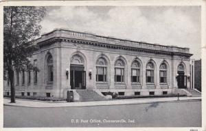 Exterior,  U.S. Post Office,  Connersville,  Indiana,   PU_1950