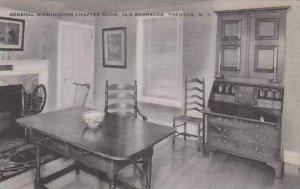 New Jersey Trenton General Washington Chapter Room Old Barracks Artvue
