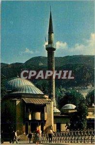 Modern Postcard The mosque Saravejo of Emperor