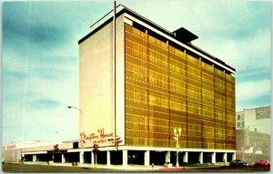 Lincoln, Nebraska Postcard CLAYTON HOUSE MOTEL 10th & O Streets c1960s Chrome