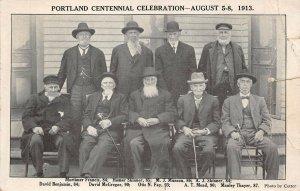 LPS90 Portland Oregon 1913 Centennial Celebration Postcard