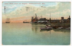 Newburyport, Mass, Water Front and Shipping