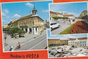 3-Views, Pozdrav Iz VRSAC, Yugoslavia, 1940-1960s
