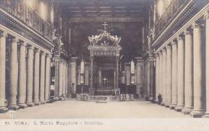 RP, S. Maria Maggiore- Interno, Roma (Lazio), Italy, 1910-1920s