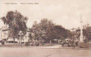 Ohio Mount Vernon Public Square-Albertype