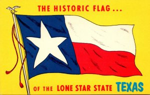 Texas Historic Flag Of The Lone Star State