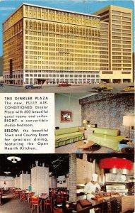 Atlanta Georgia 1958 Postcard The Dinkler Plaza Hotel