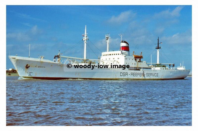 mc4539 - East German Cargo Ship - Georg Weerth , built 1967 - photo 6x4